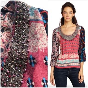 Plenty Tracy Reese Patchwork Prarie Top